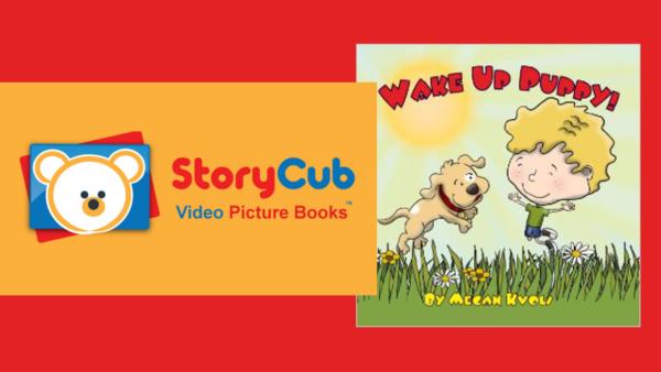 Free kids and children's video - Wake Up Puppy